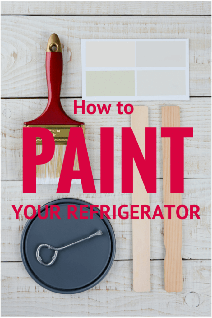 Hate your old Fridge?? Paint it! - It's easier than you think!