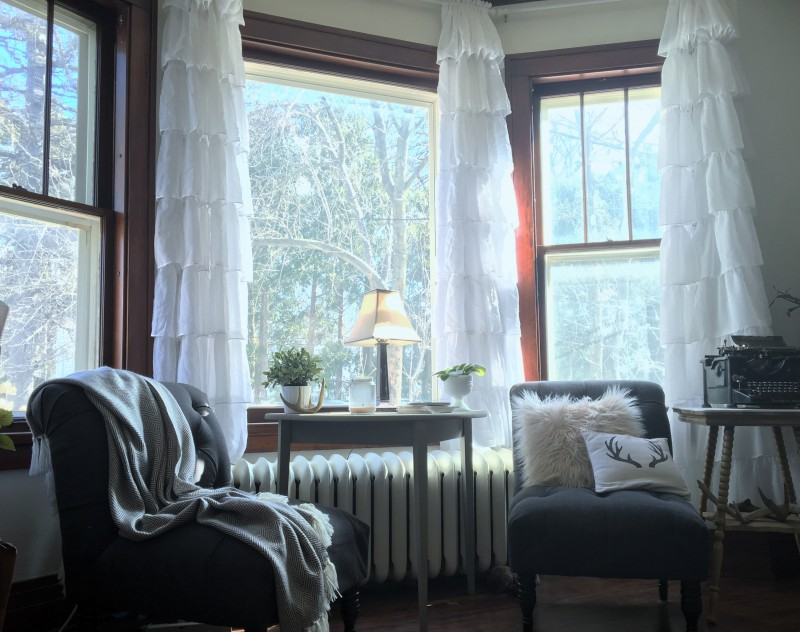 Great living room curtain knock-offs for a fraction of the cost of the designer same designer curtains!