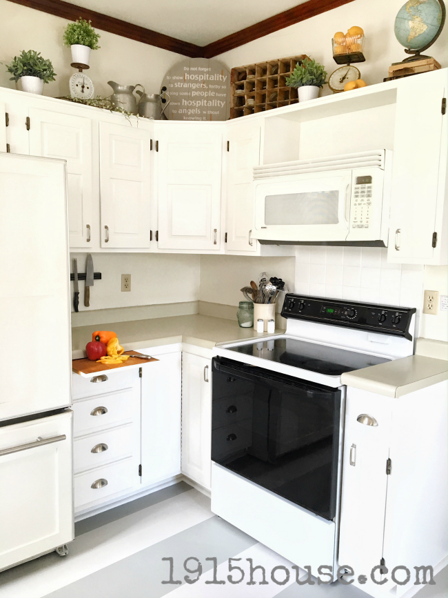How NOT To Paint Your Kitchen Cabinets. Let Me Share With You What I DID