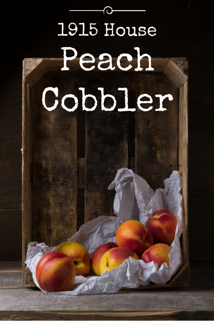 The most delicious peach cobbler recipe with only 7 ingredients!