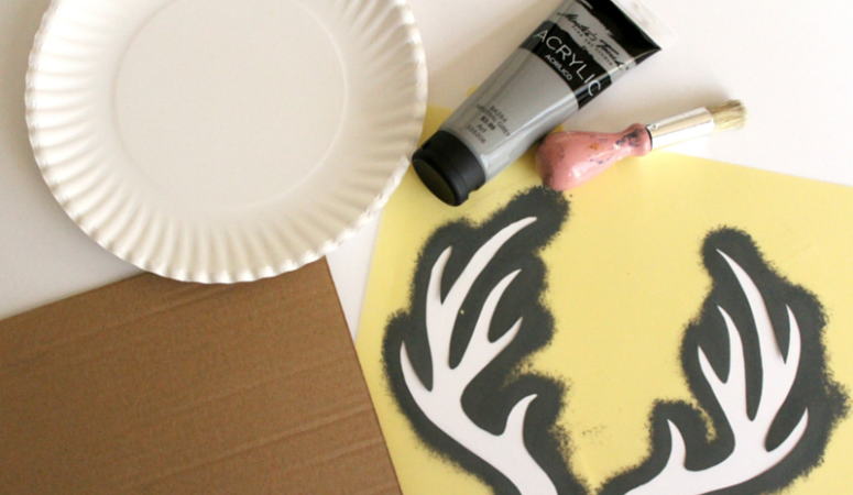 Quick and easy Custom Stencil DIY
