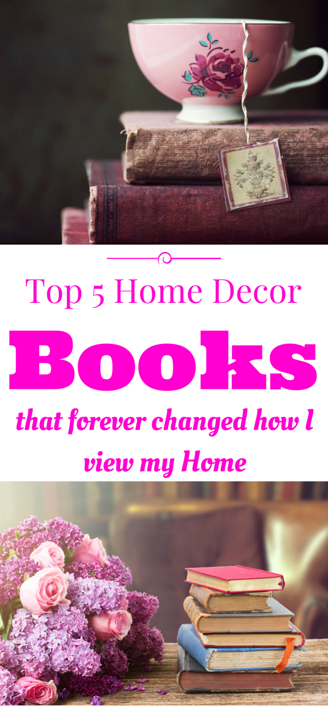 My Five Favorite Home Decor Books 1915 House