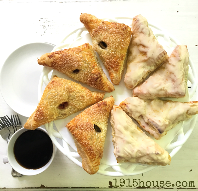 These simple and out-of-this-world delicious puff pastry turnovers will have your friends and family begging for more! So simple, so easy....