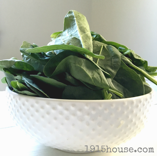Don't be put off by the spinach in this recipe. Trust me. You won't even know it's there - and it's so good for you. What better way to get in your greens?