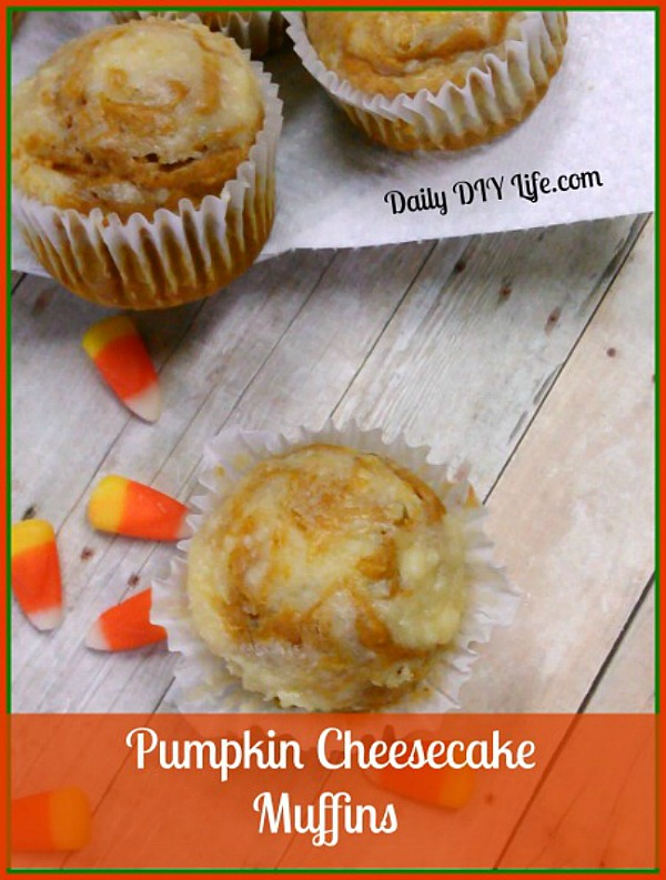 These pumpkin cheesecake muffins blend our favorite quintessential Fall flavors. Make them ahead for easy grab and go school morning breakfasts.