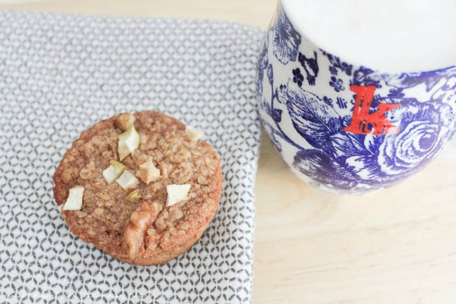 These fantastic baked oatmeal cups from Making it in the Mountains are part of my top 5 easy breakfast ideas - prefect for on-the-go families who want healthy breakfast options.