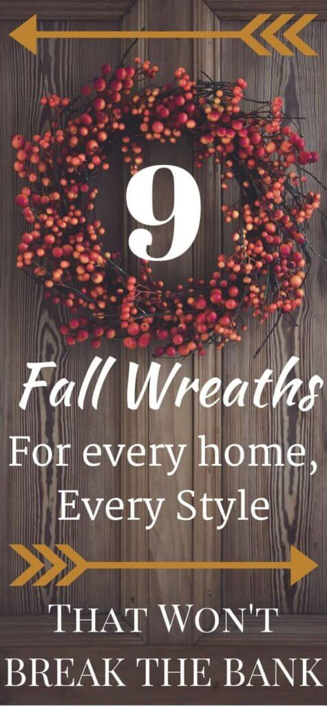 Whether you want to DIY or Buy, these Fall Wreaths will give you the inspiration you need! Decorating your home for Fall need not cost a fortune - and with these gorgeous options, creating a warm, welcoming entrance is easy with these Fall Wreaths...