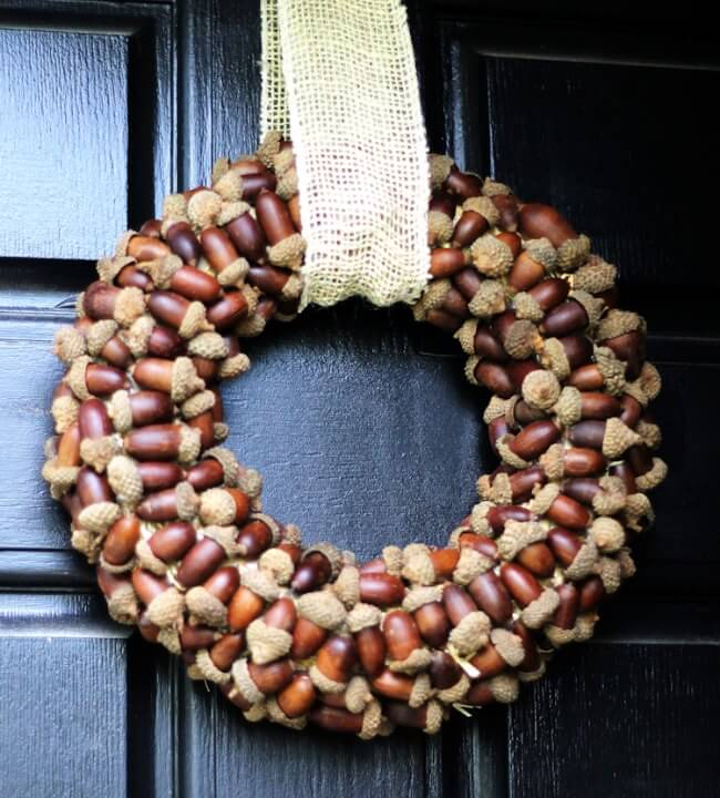 The depth and woodland charm of this fall wreath makes it a must-have! Stunning on any front door or hanging on any vintage window frame...