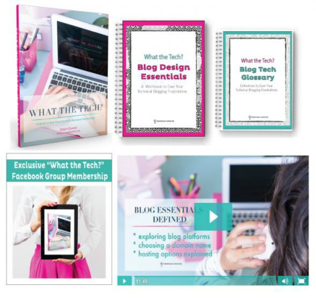 This ONE course will give you the solid foundation you need to make your blogging a success-