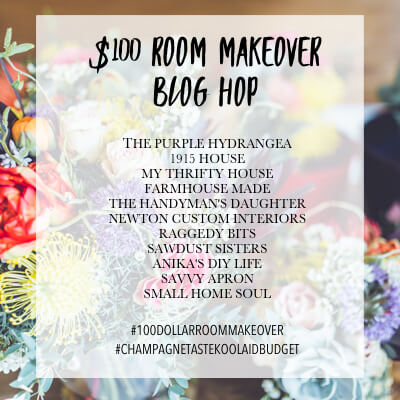 Check out these amazing bloggers for major inspiration on room makeovers on only $100!