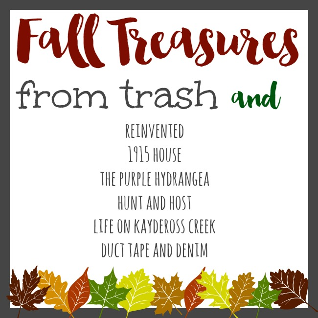"Some of the most fun bloggers come together to present a ""Trash to Treasure"" blog hop!!! Check it ou!"