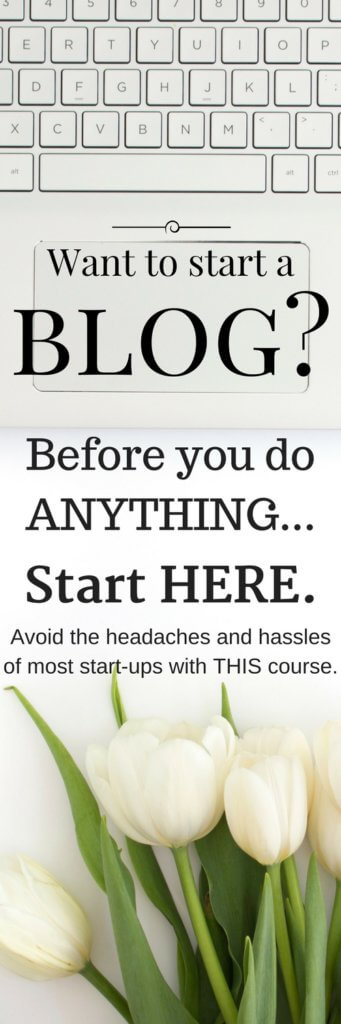 THIS is the course I wish I had when I first started my blogging journey. It would have saved my SO much time, hassle and headaches! Avoid the mistakes I made and start here...you'll be so glad you did.