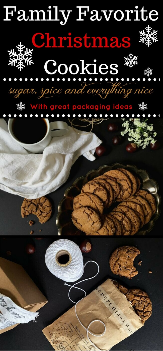 The BEST Christmas cookies! Chewy on the edges, and soft on the inside. A family favorite recipe for perfectly spicy, molasses-y cookies. We call them King's Cringles and they are everything you'd ever want in a molasses spice cookie. Make them today!