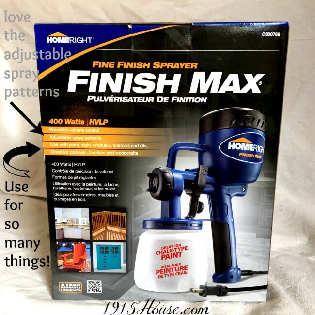 This paint sprayer is a HUGE game changer! What used to take hours, now only takes minutes. It gives a flawless, professional finish every time. Bring on all the DIY projects - this sprayer changes everything.