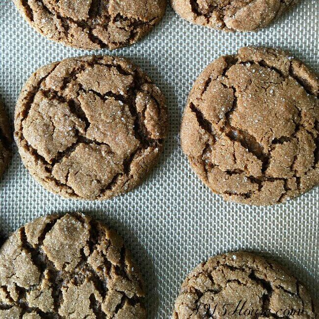 The BEST Christmas cookies! Chewy on the edges, and soft on the inside. A family favorite recipe for perfectly spicy, molasses-y cookies. We call them King's Cringles and they are everything you'd ever want in a molasses spice cookie. Perfect with a cup of coffee...Make them today!
