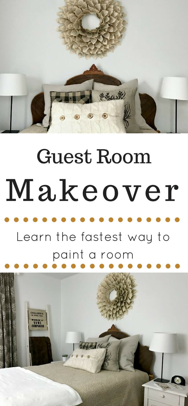 The fastest way to paint a room! No more roller trays, roller tray liners or sloppy paint messes. This is the tool you need to save tons of time on those room painting projects.