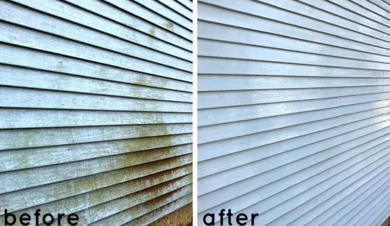 How to Clean Vinyl Siding with No Chemicals