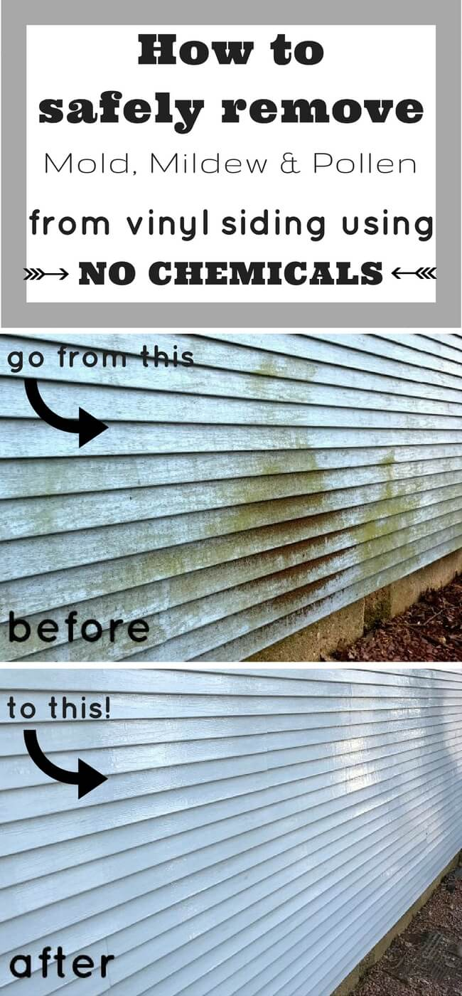 How To Clean Vinyl Siding With No Chemicals 1915 House
