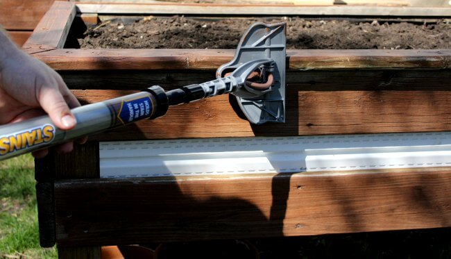 Staining wood with this one simple tool will cut your work time in half!