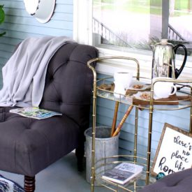 Easiest front porch update on a budget