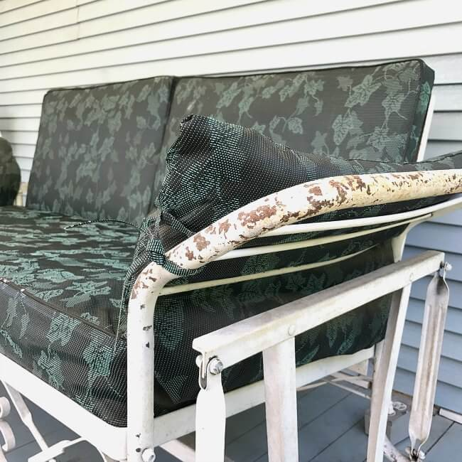 How to paint old metal furniture with a sprayer that will change how you do all your DIY projects. It's faster, easier, and NO THINNING of paint necessary!
