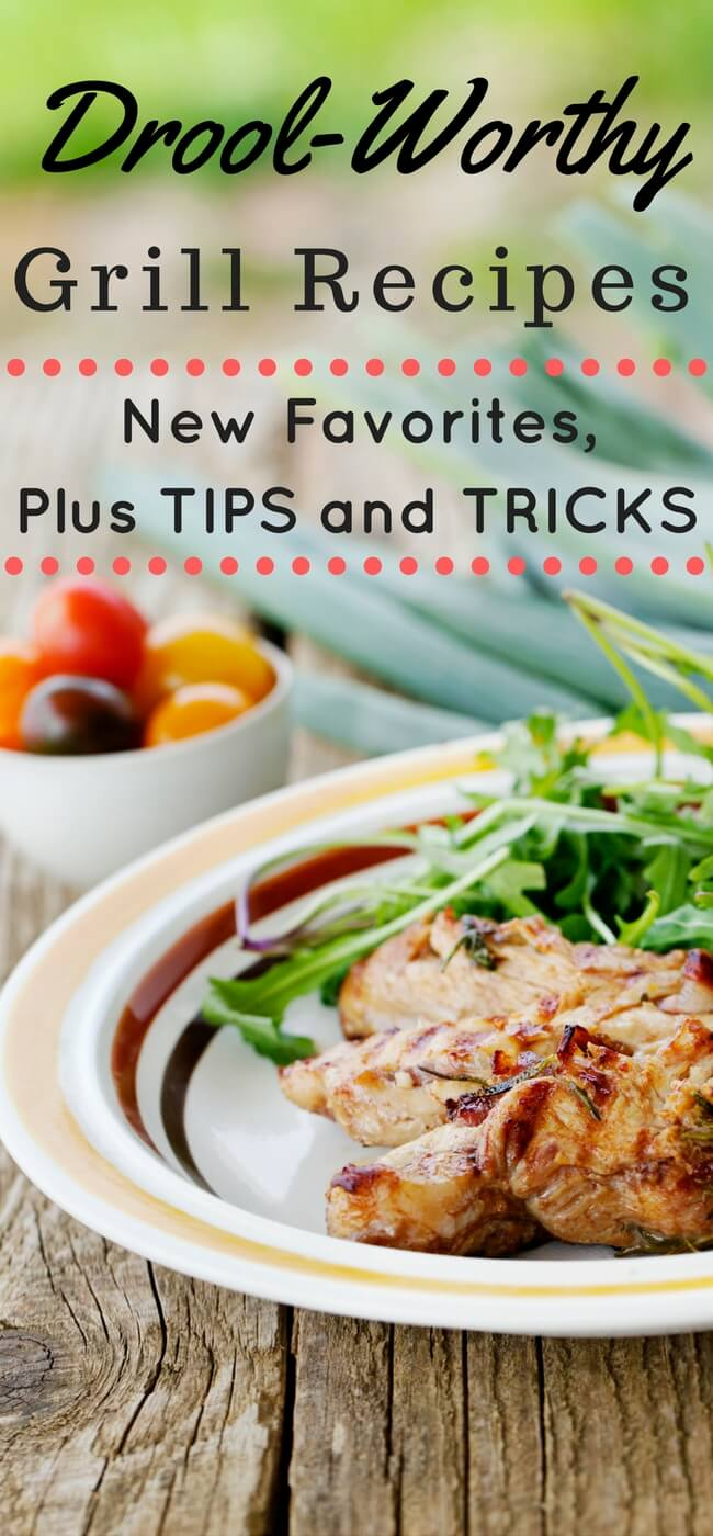 Yummiest, drooling-est Grill Recipes. Main dishes, sides, marinades and rubs! | Grilling | Best Grill Recipes | Grilled Chicken | Grilled veggies | Grilling tips and tricks