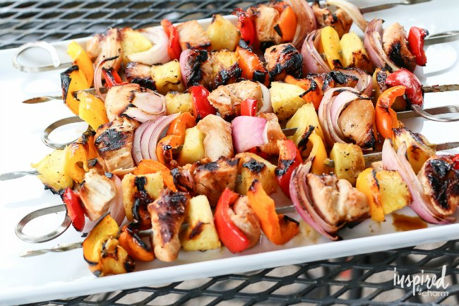 Best Grill Recipes | Chicken Pineapple Kabobs | These kabobs are sure to be a huge hit!