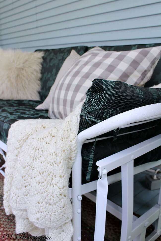 How to paint that old outdoor metal furniture with a sprayer that will change how you do all your DIY projects. It's faster, easier, and NO THINNING of paint necessary!