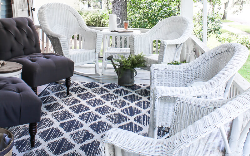 How to Paint Wicker Furniture for a Long Lasting Finish