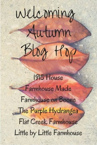 fall outdoor home tour