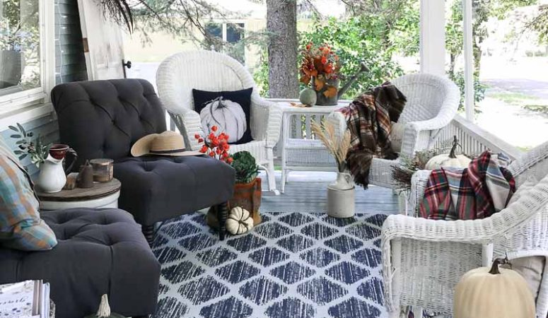 Simple Fall Front Porch Ideas
