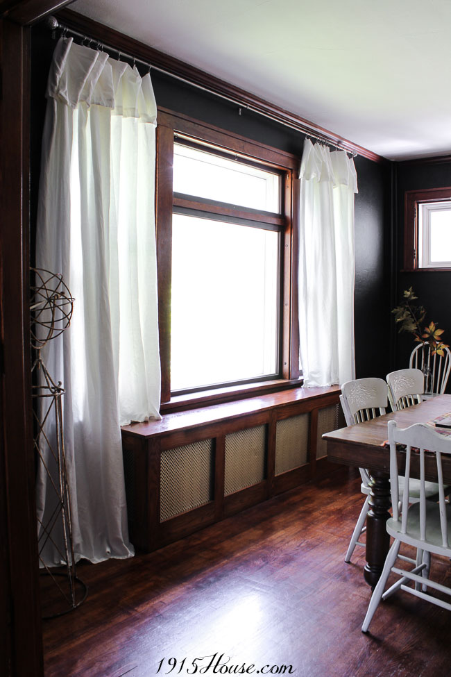 There ARE ways to find budget-friendly window treatments - this is one of them...
