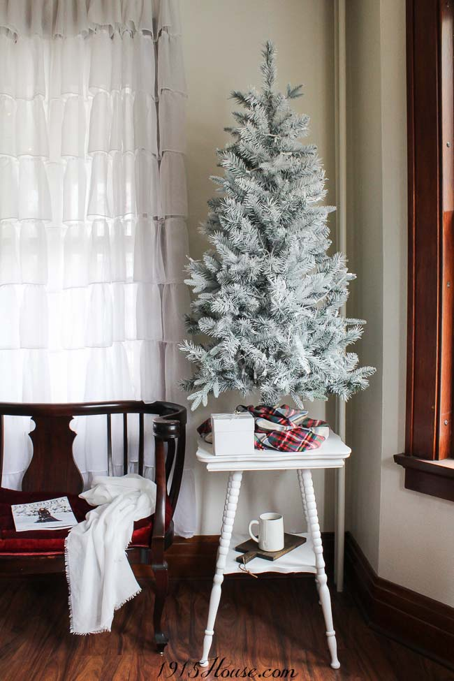 Save money and DIY your own white Christmas tree - these simple tips will show you how...