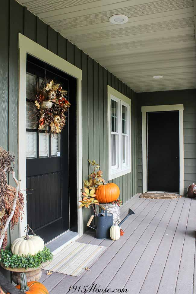 Sometimes all you need for great curb appeal is a new door color. This paint is amazing stuff...