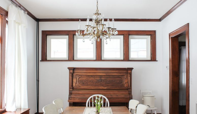 Spring Dining Room Makeover