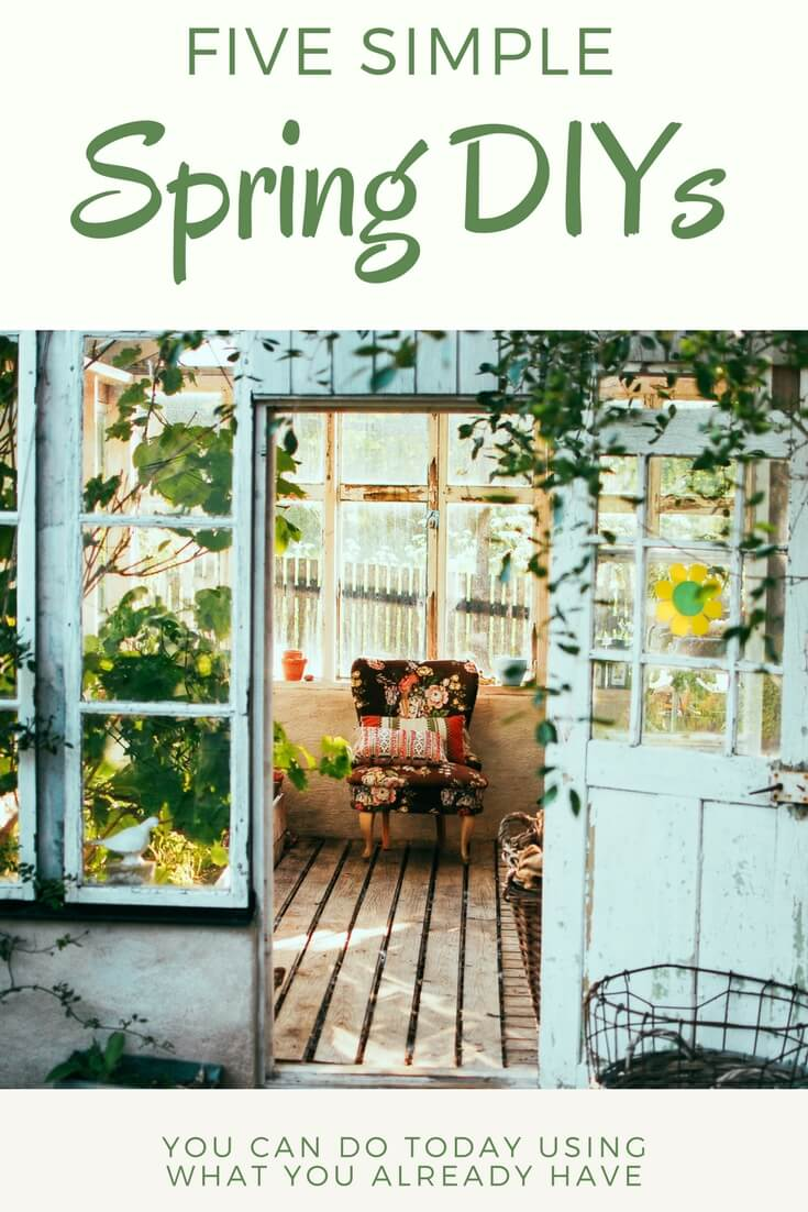 Simple Spring DIYs anyone can do