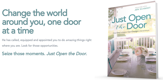 Just open the door - welcoming everyday hospitality