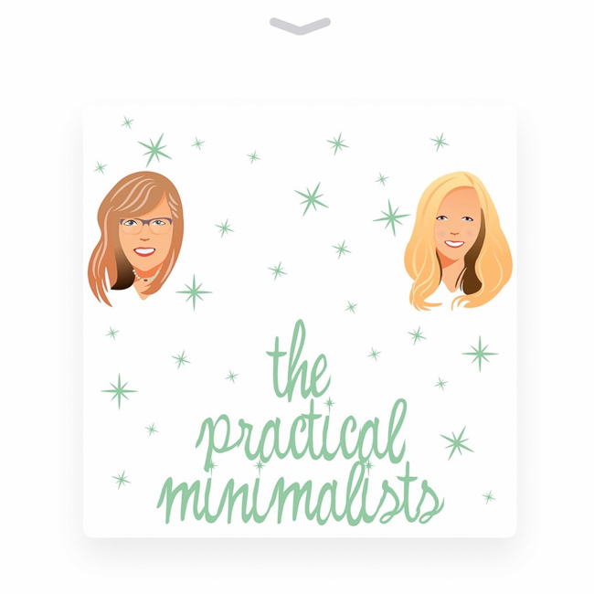 Favorite minimalist podcasts for moms - get inspiration and encouragement in your earbuds anytime, anywhere!