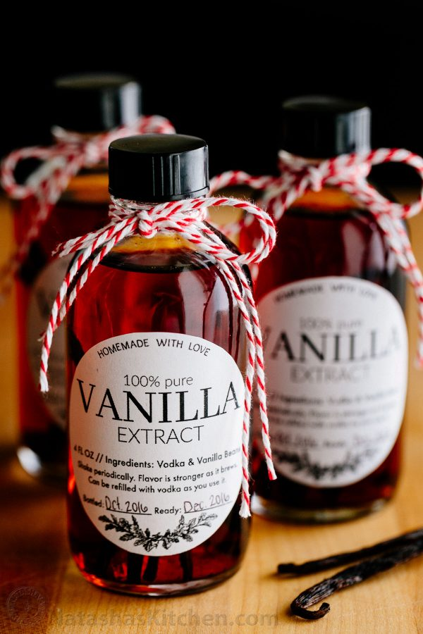 Homemade vanilla extract in 5 minutes (plus steeping time)