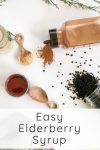 Easy Elderberry Syrup recipe - save money by making your own!