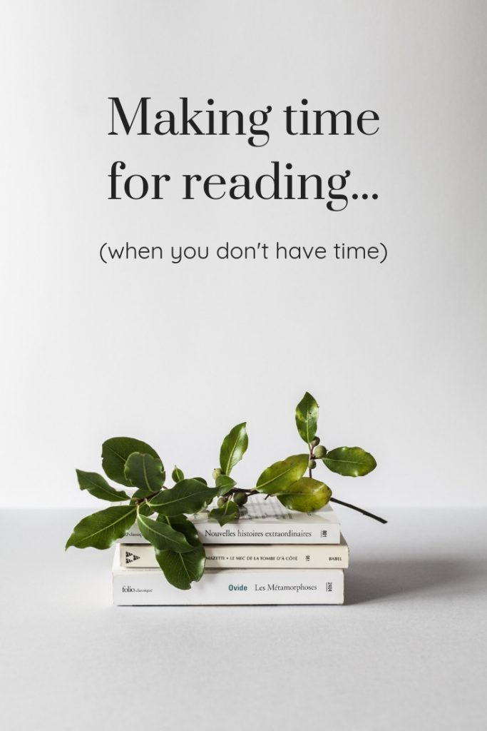 How to get more books read - even when you don't have time