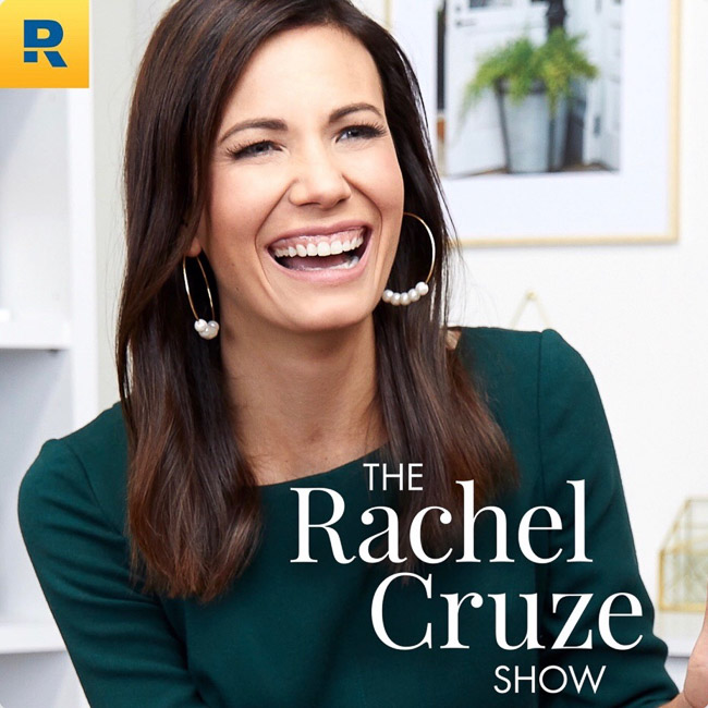 Rachel Cruz podcast - SUCH a good listen