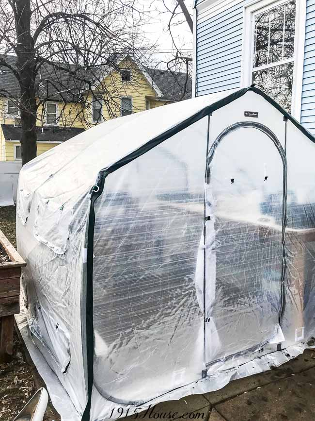 Flowerhouse Greenhouse - start those seeds early